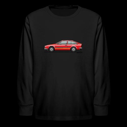 Alfetta GTV Turbodelta - Kids' Long Sleeve T-Shirt