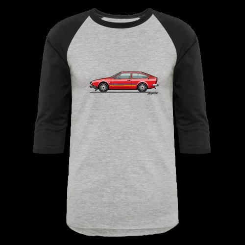 Alfetta GTV Turbodelta - Baseball T-Shirt