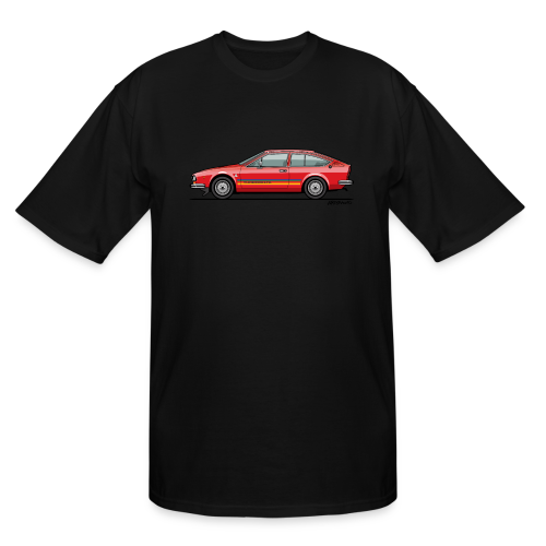 Alfetta GTV Turbodelta - Men's Tall T-Shirt