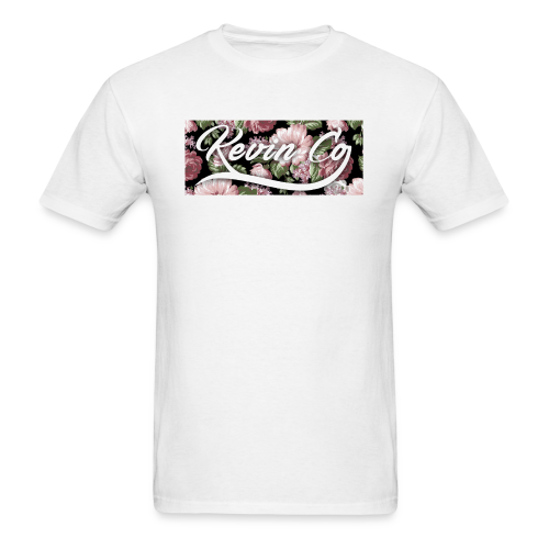 Kevin Co Signature Floral Tee  - Men's T-Shirt
