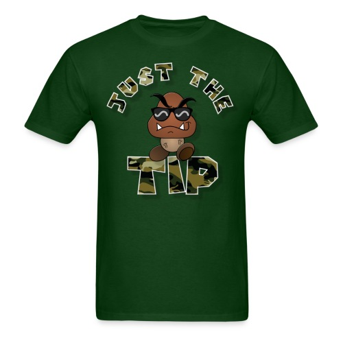 Just The TIP Camo Green - Men's T-Shirt