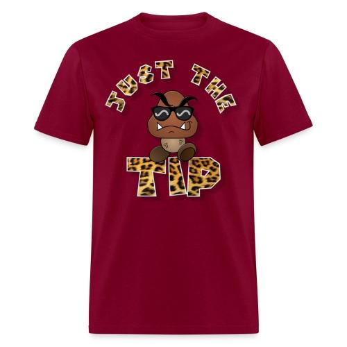 Just The TIP Cheetah - Men's T-Shirt