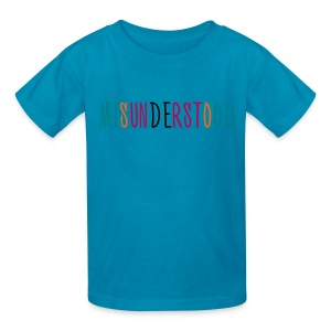 Misunderstood Kids Boys T-Shirt Multi Color - Kids' T-Shirt