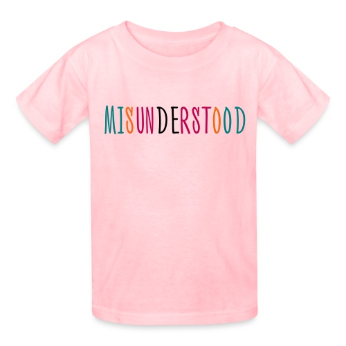 Misunderstood Kids Girls T-Shirt Multi Color - Kids' T-Shirt