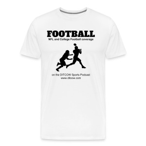 DITCOW Football Shirt - Men's Premium T-Shirt