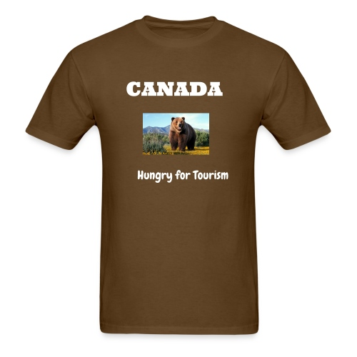 Canada Tourism - Men's T-Shirt