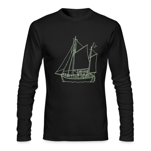 sailing boat - Men's Long Sleeve T-Shirt by Next Level