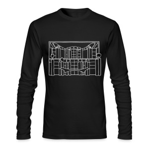 Chancellery in Berlin - Men's Long Sleeve T-Shirt by Next Level