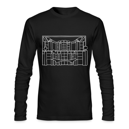 Chancellery in Berlin - Men's Long Sleeve T-Shirt by Next Level