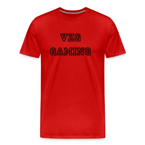 Plain vzg gaming shirt - Men's Premium T-Shirt