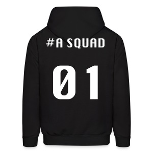 A Squad hoodie(white font) - Men's Hoodie