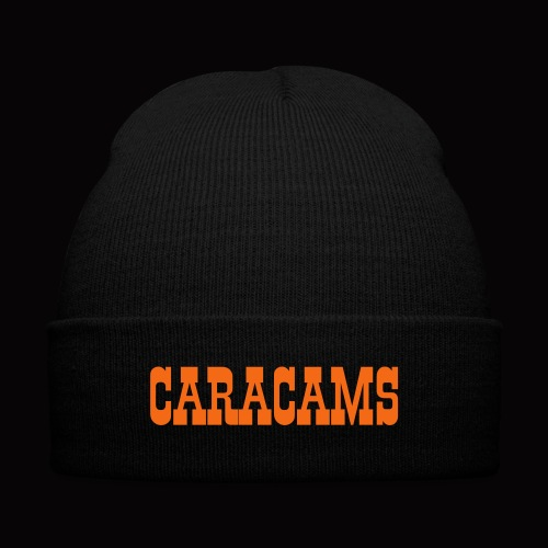 Cara-TEE (WOMENS) - Knit Cap with Cuff Print