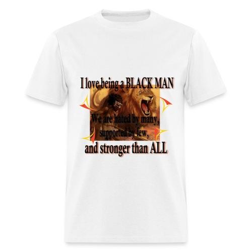 BLACK MAN T-SHIRT FOR MEN - Men's T-Shirt