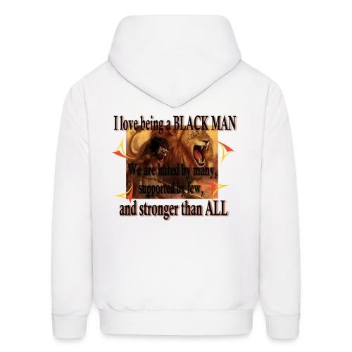 BLACK MAN HOODIE FOR MEN - Men's Hoodie