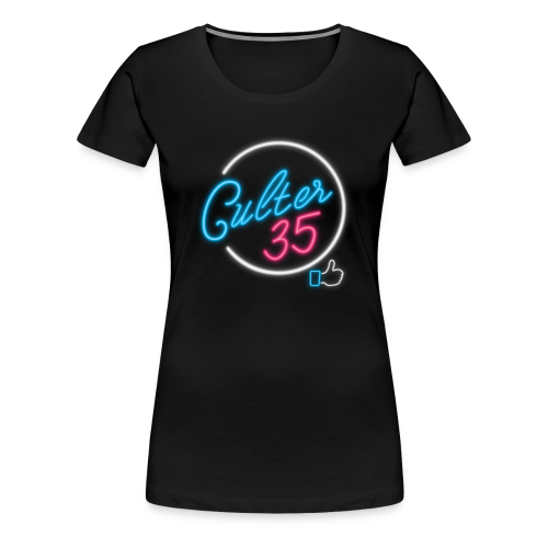 Women's Neon Sign T-Shirt - Women's Premium T-Shirt