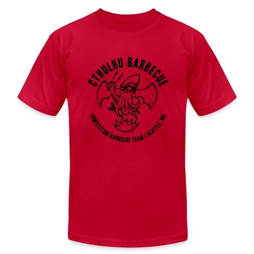 Men's Black Logo - Men's Fine Jersey T-Shirt