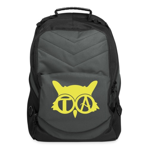 Computer Backpack - Yellow/Black/Gray - Computer Backpack