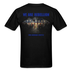 W.A.R  We Are Rebellion Eagle - Men's T-Shirt