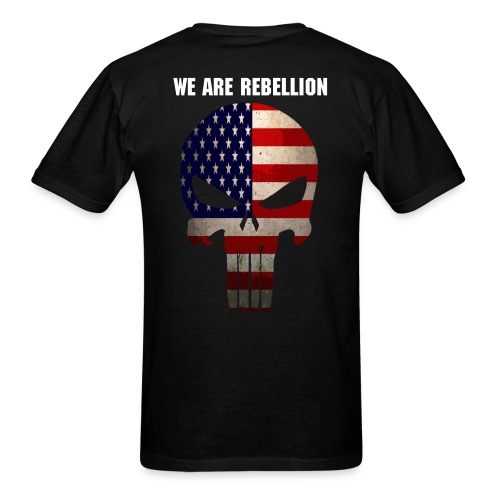 W.A.R American Punisher - Men's T-Shirt