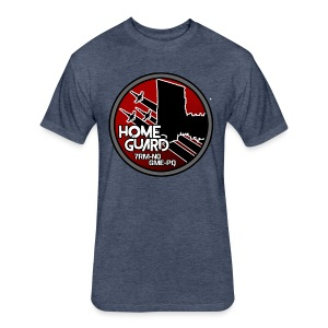 Home Guard Logo -  Fitted Tee - Fitted Cotton/Poly T-Shirt by Next Level