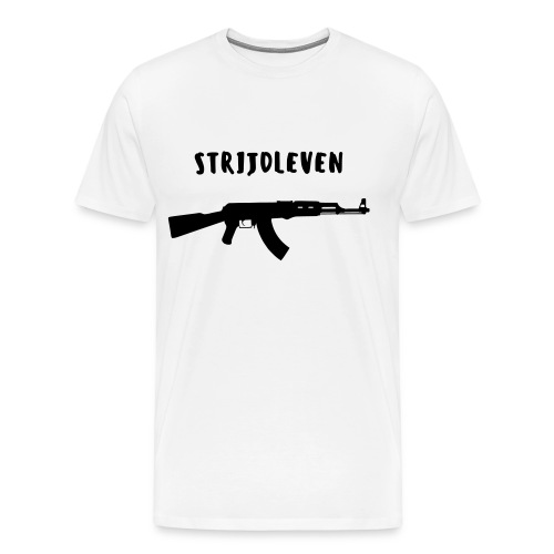 STRIJDLEVEN WIT - Men's Premium T-Shirt