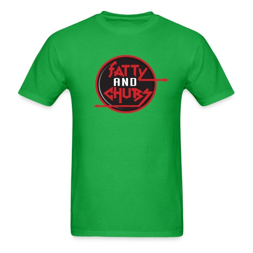 Fatty and Chubs Logo T-Shirt (Mens) - Men's T-Shirt