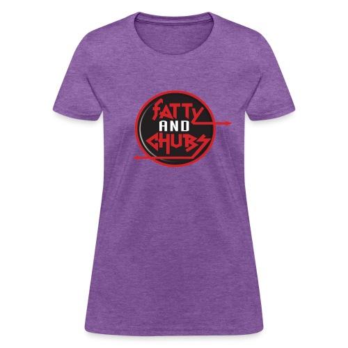 Fatty and Chubs Logo T-Shirt (Womans) - Women's T-Shirt