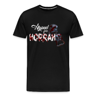 T-Shirts ~ Men's Premium T-Shirt ~ Men's Black Horror Hype T-Shirt