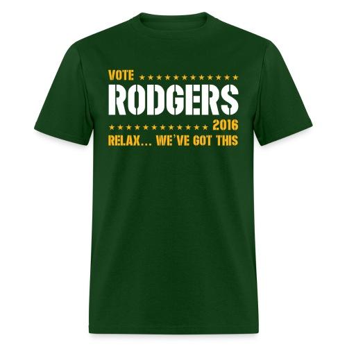 Vote Rodgers - Men's T-Shirt