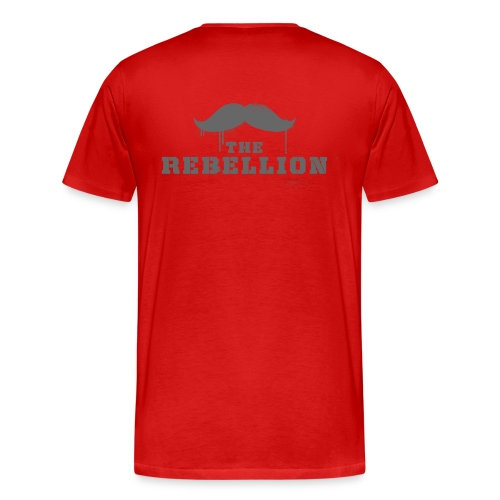 Scarlet and Gray - Men's Premium T-Shirt