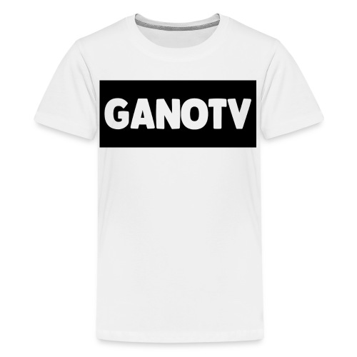 Mens Tee Shirt With Name /White - Kids' Premium T-Shirt