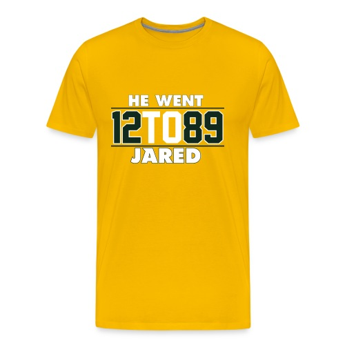 He Went To Jared C. Gold - Men's Premium T-Shirt