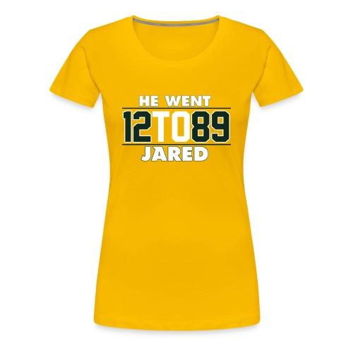 He Went To Jared C. Gold - Women's Premium T-Shirt