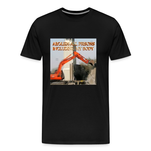abolish all prisons - Men's Premium T-Shirt