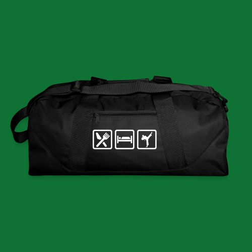 Eat Sleep Karate Kempo Army Bag. - Duffel Bag