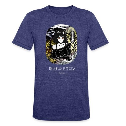 Cashmerian Gold - Hidden Dragon Tee - Unisex Tri-Blend T-Shirt