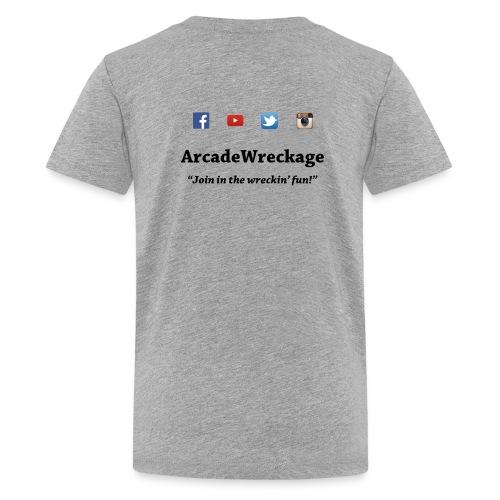 Kids Arcade Wreckage t-shirt - Kids' Premium T-Shirt