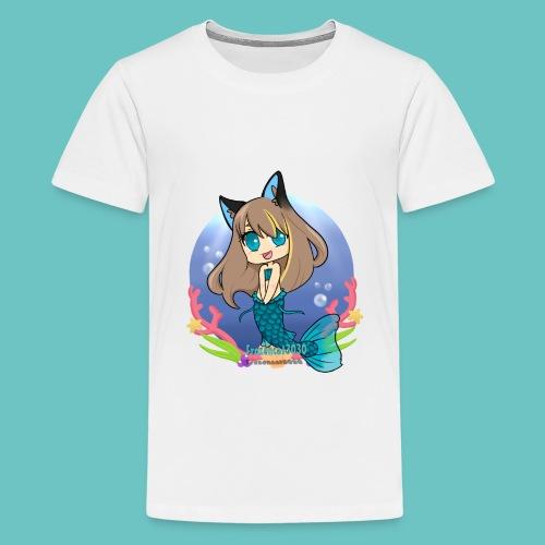 Frozencat3030-Design 2- Mermaid In the Sea- Kids Premium T-shirt - Kids' Premium T-Shirt