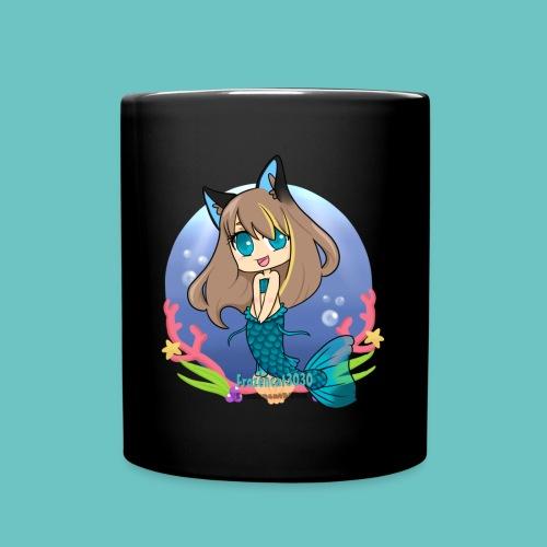 Frozencat3030- Mermaid in the Sea- With Name/Logo- Mug - Full Color Mug
