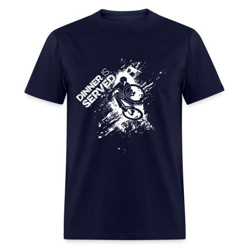 Dinner is Served light graphic T-Shirt - Men's T-Shirt