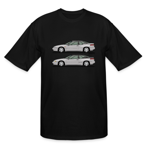 SVX Liquid Silver Duo - Men's Tall T-Shirt