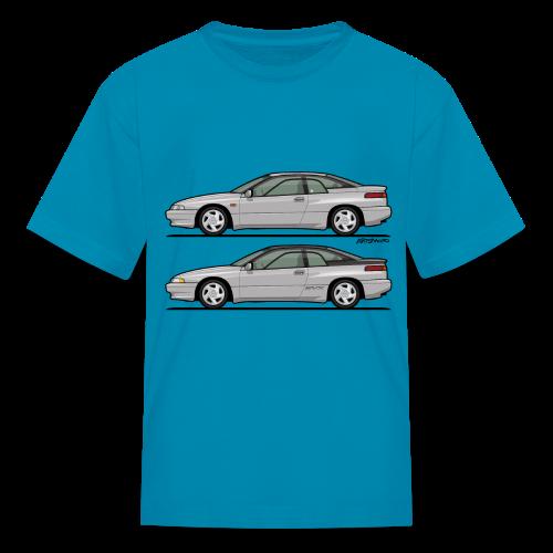 SVX Liquid Silver Duo - Kids' T-Shirt