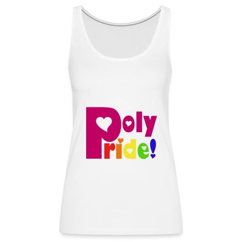Rainbow Poly Pride - Women's Tank - Women's Premium Tank Top