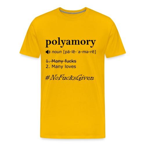No F*cks Given - Unisex Shirt - Men's Premium T-Shirt
