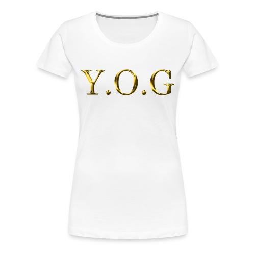 Women's Y.O.G (Original) - Women's Premium T-Shirt
