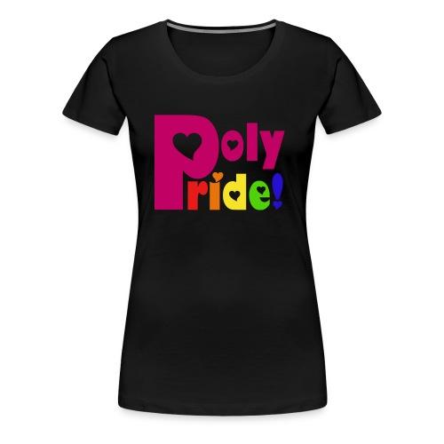 Rainbow Poly Pride - Women's Shirt - Women's Premium T-Shirt