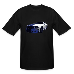 5th Gen Mustang Cobra Tall & Big Ts - Men's Tall T-Shirt