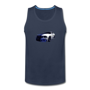 5th Gen Mustang Cobra Men Tank - Men's Premium Tank