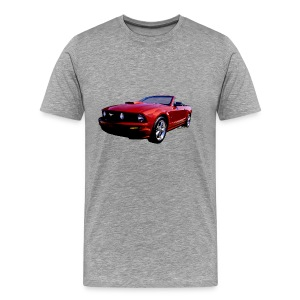 5th Gen Mustang Convertible Men Reg & Big - Men's Premium T-Shirt