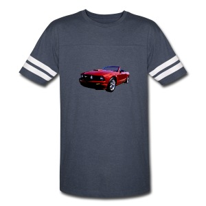 5th Gen Mustang Convertible Men Sport T - Vintage Sport T-Shirt